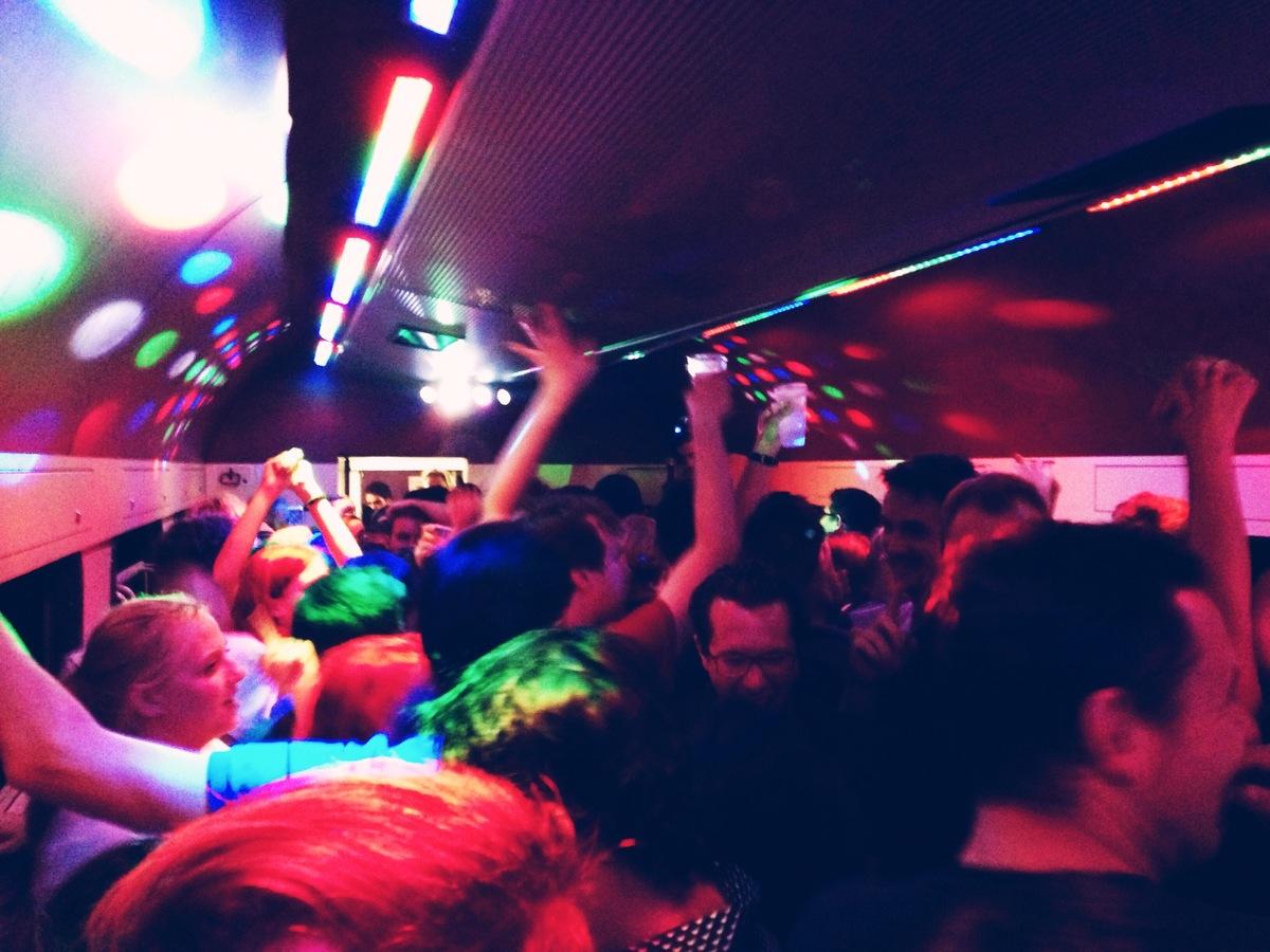trivago on tour party train 5