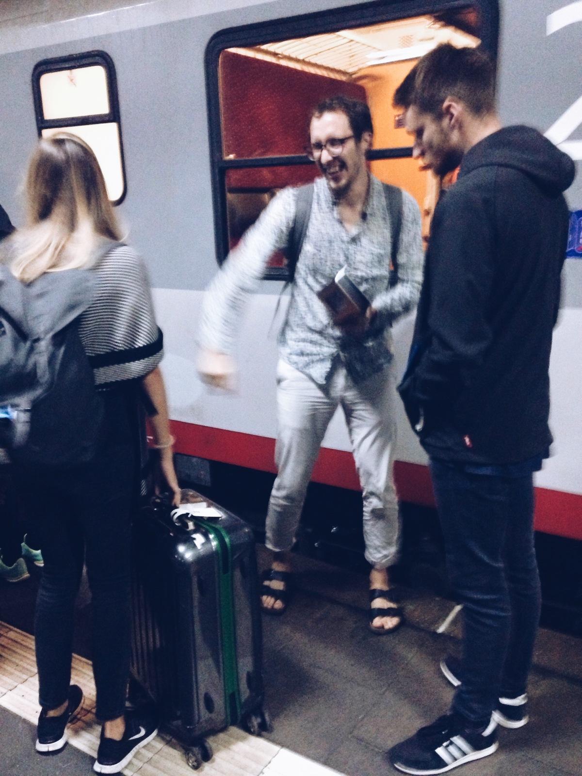 trivago on tour party train 4
