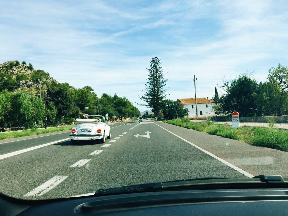 on the road mallorca