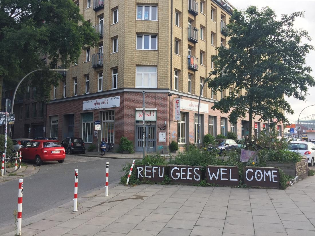 refugees welcome hamburg