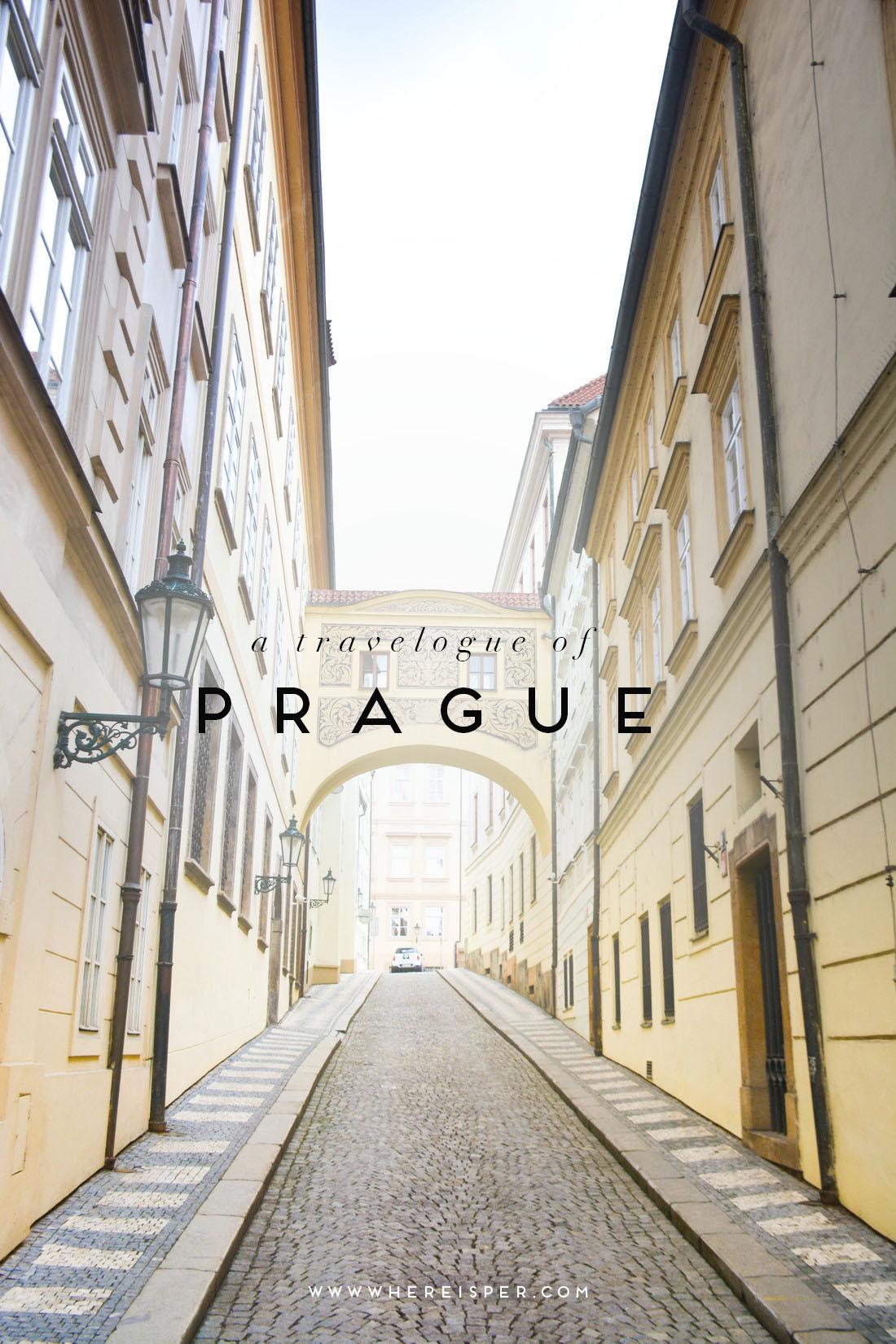 A travelogue of prague where is per