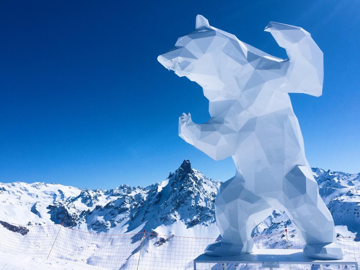 bear at meribel
