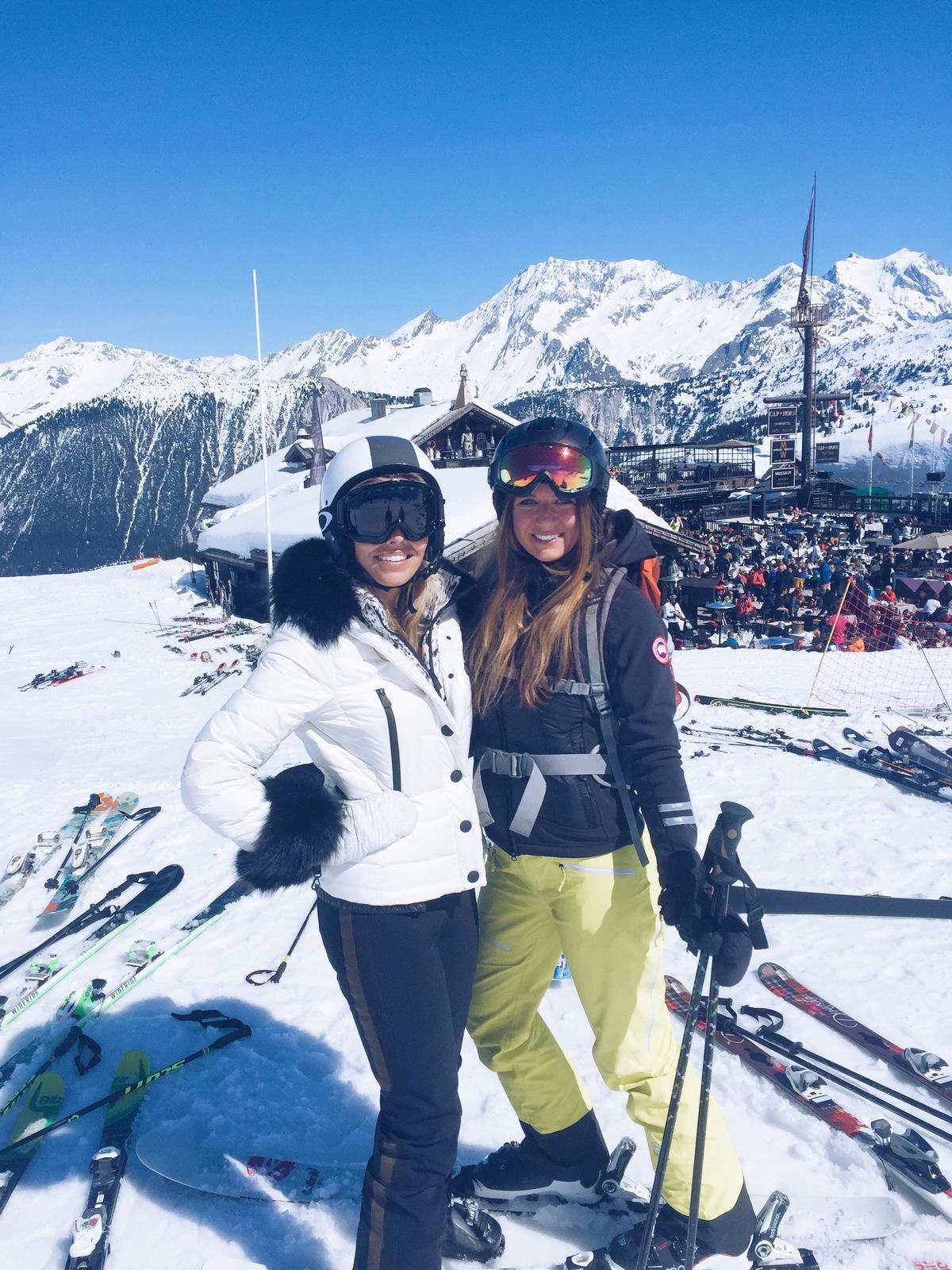 tash oakley skiing
