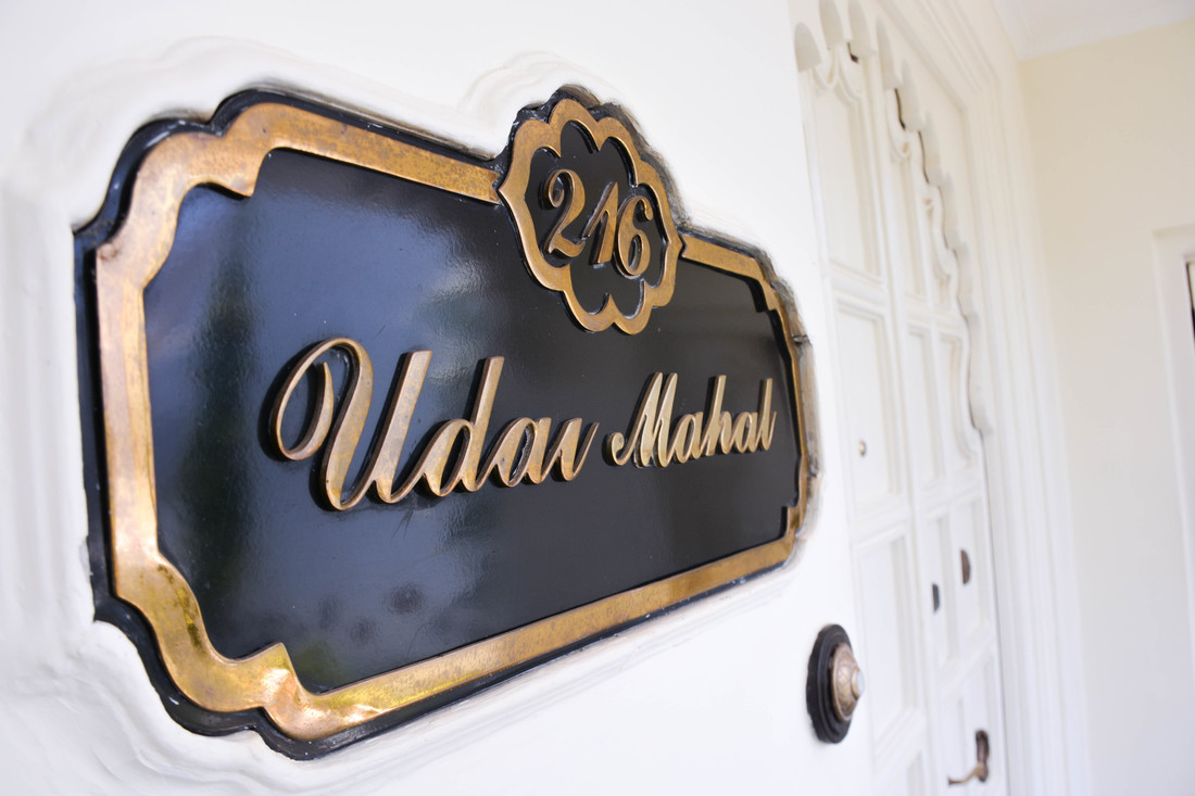 Udar Mahal Suite Taj Lake Palace