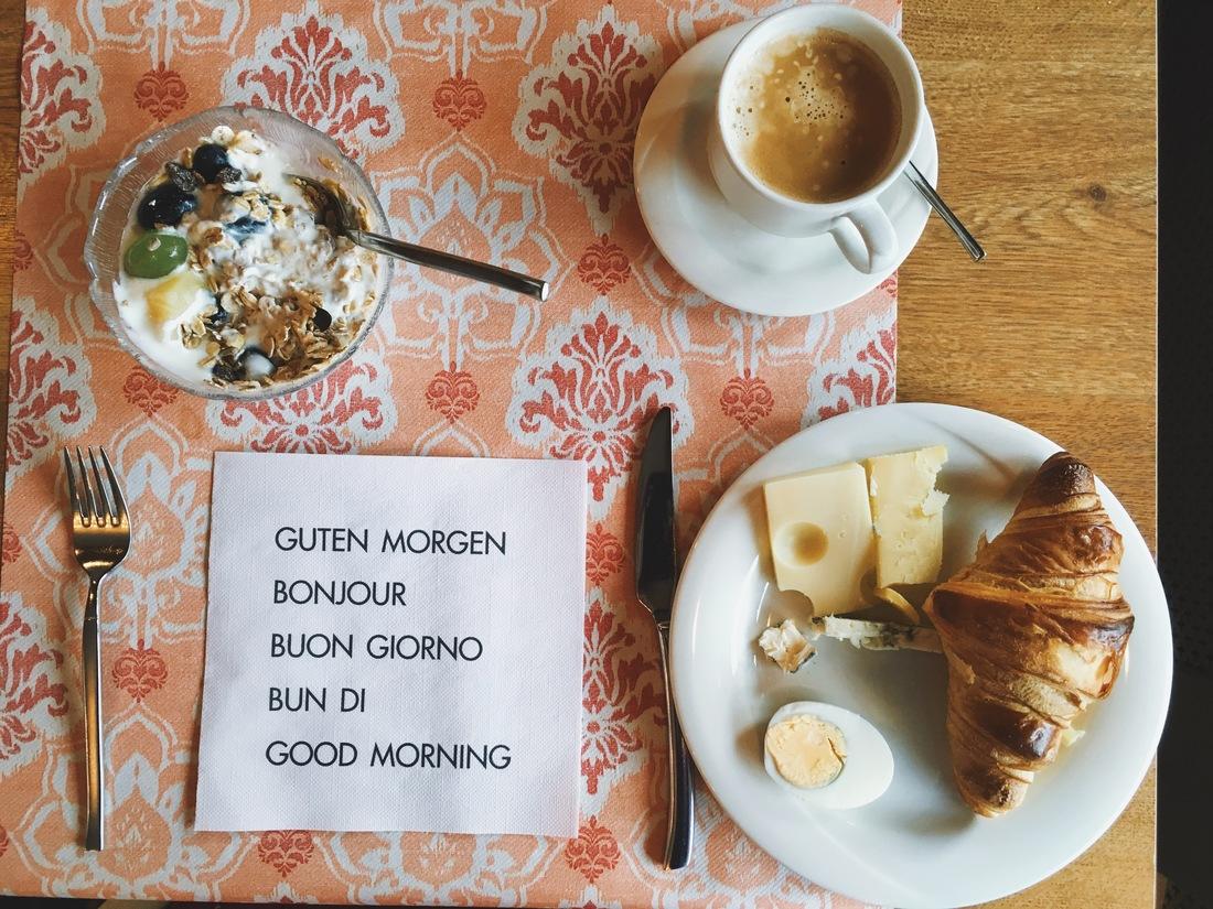 swiss breakfast adelboden