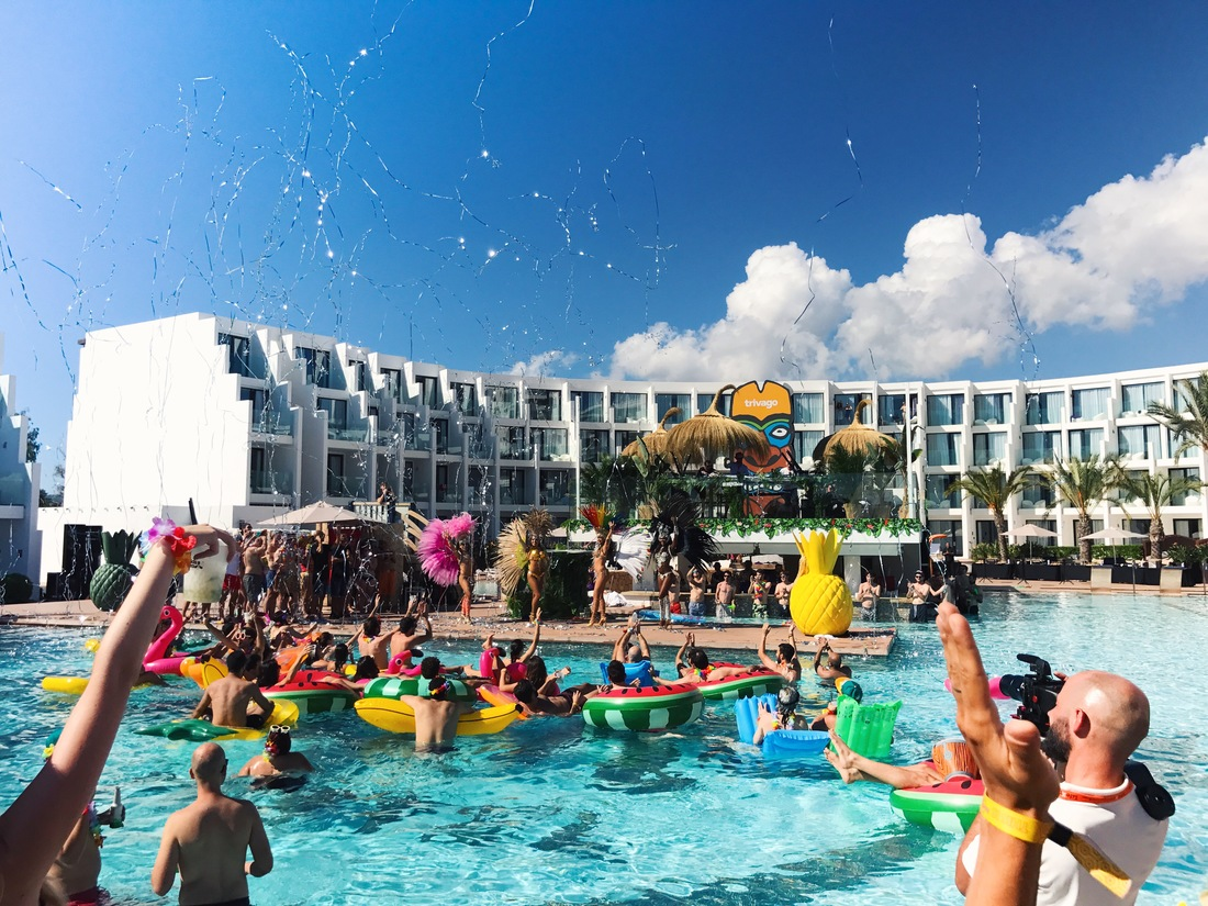 Pool Party at the Hard Rock