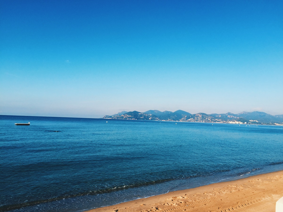 cannes swimming