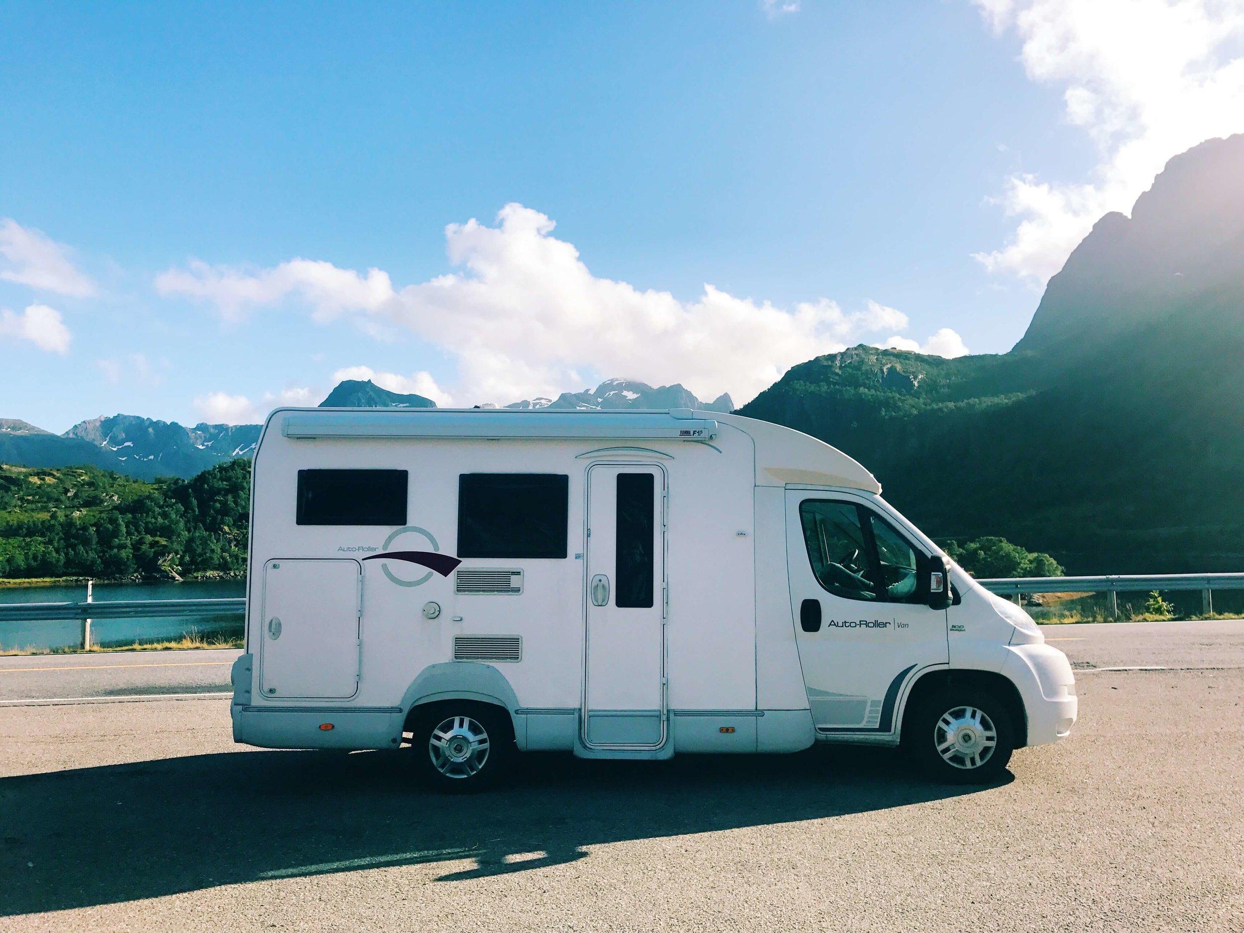 RV in Lofoten