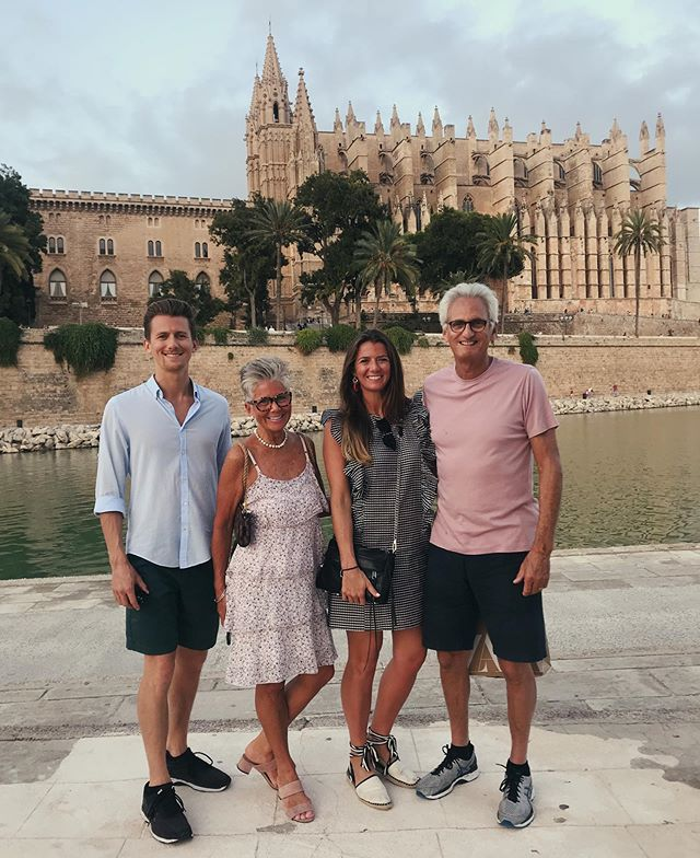 The family vacation tradition continues in Spain 🏝 #mallorca