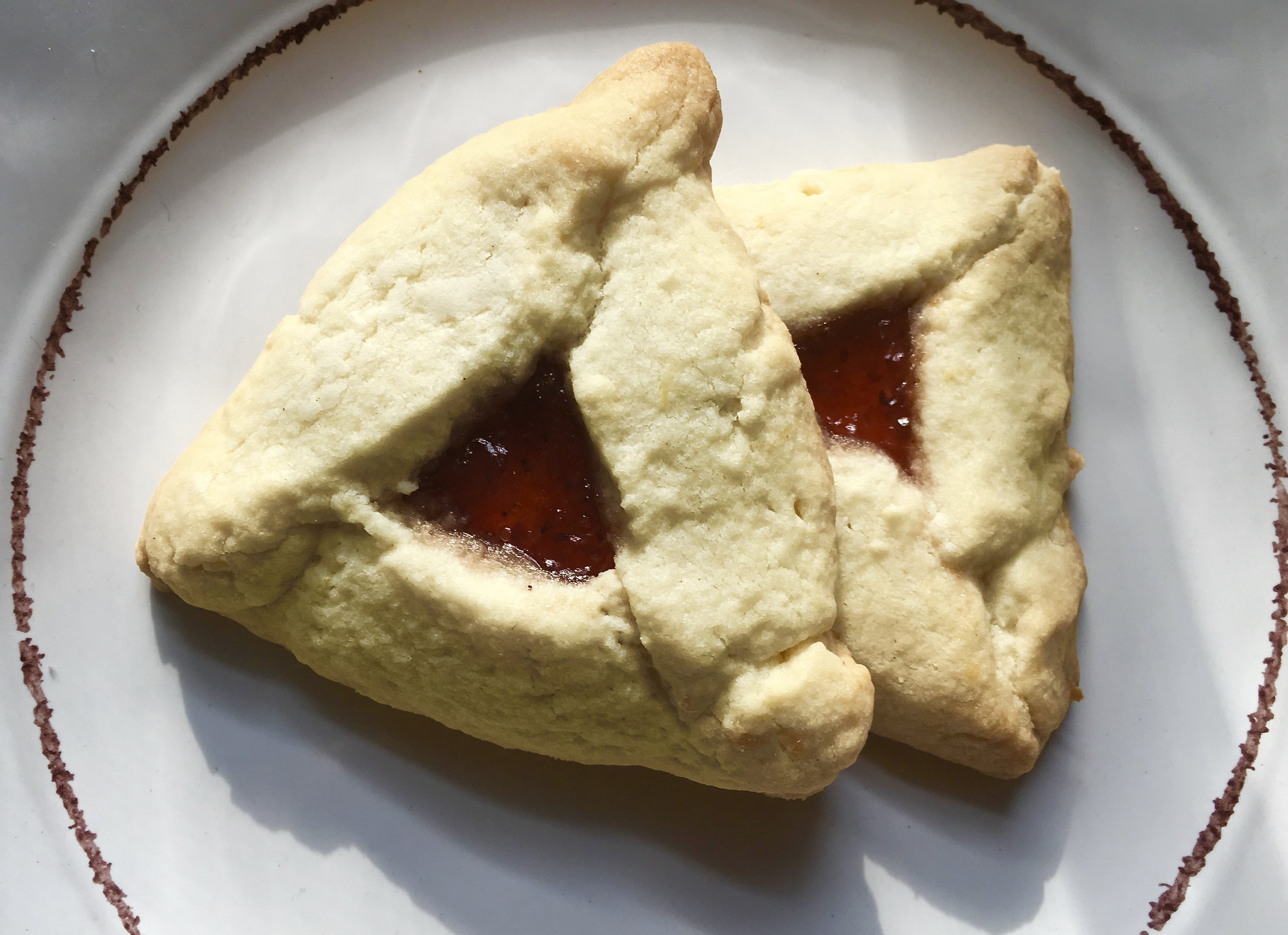 Lemon-Raspberry Hamantaschen  | 3.11.2017