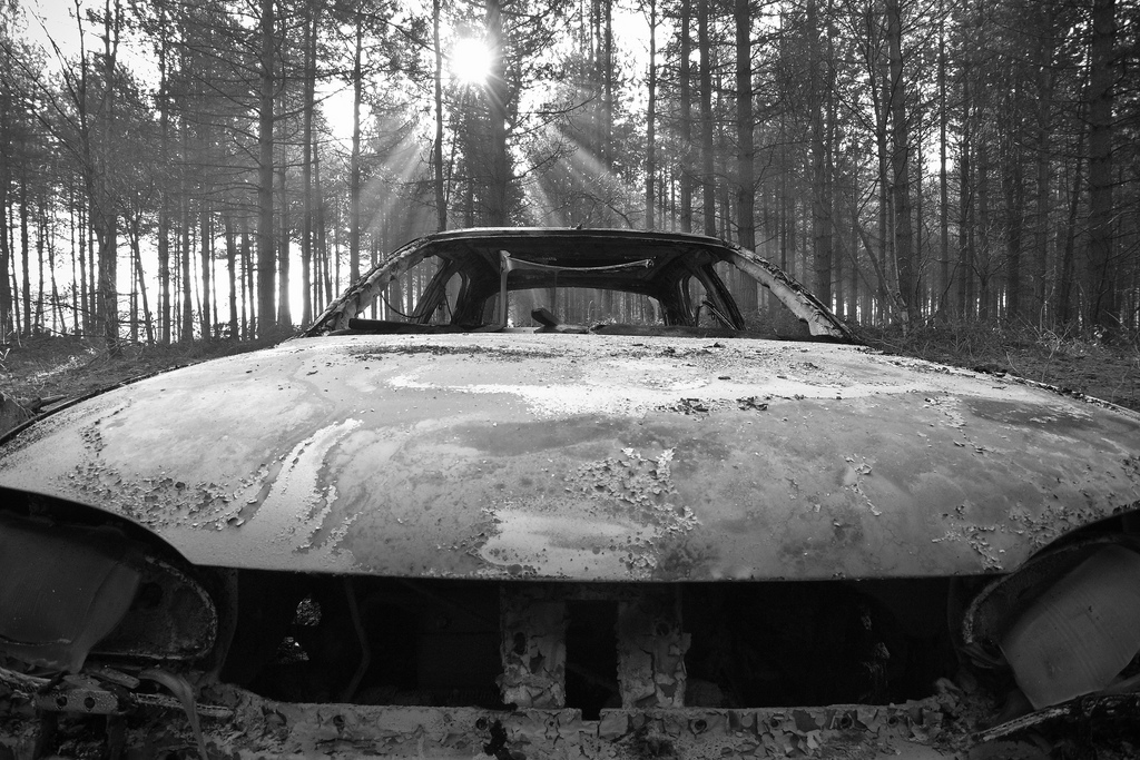 """""""Burnout 1"""",Dave Wild (Creative Commons 2.0)"""