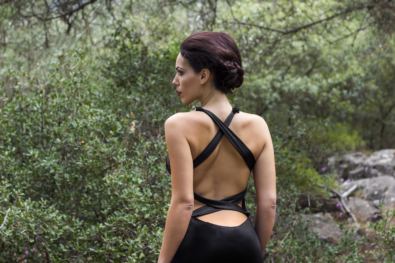 Pamela Sietos 2015 Gown Collection   Fashion Design: Pamela Sietos Hair & Makeup: Gina Kiriazi Model: Nina Foskolou Location: Athens, Greece
