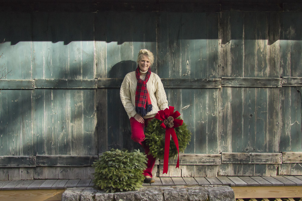 Balsam Wreath Ad Campaign Winter 2016  Blue Hill, Maine, USA