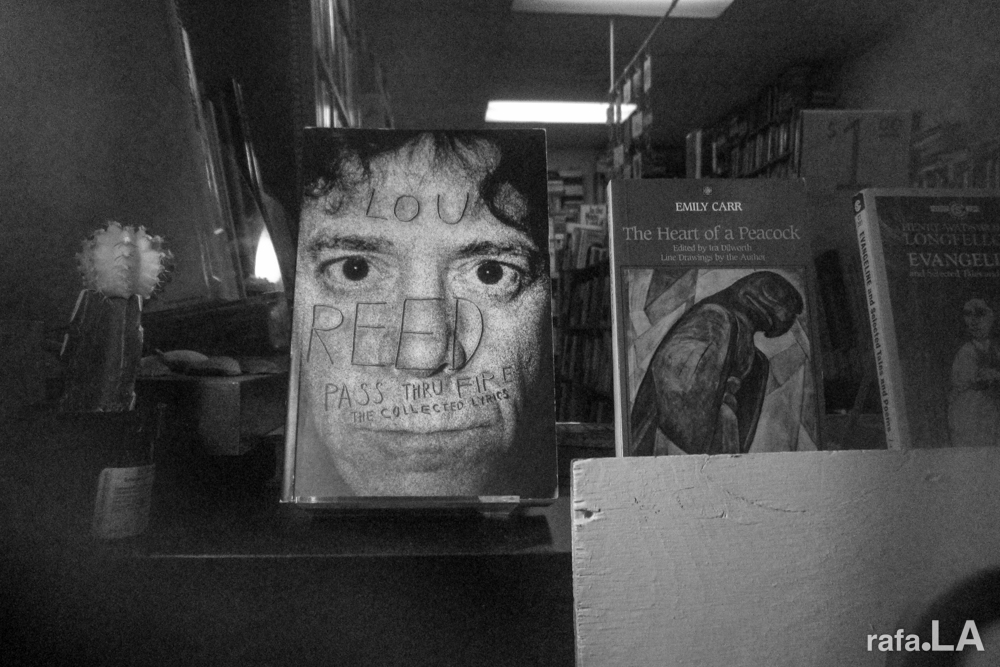 Window Display De Los Muertos.  October 30, 2013  - Seite Book Store, East Los Angeles