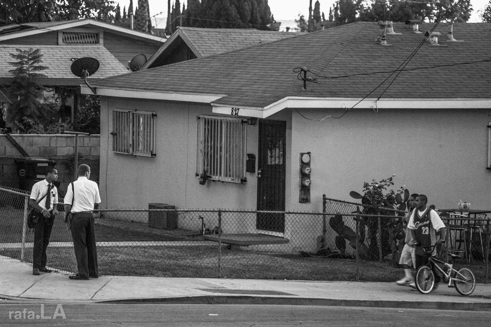 The Mormons Among Us.  November 07, 2013 - Blanchard and Rowan, East Los Angeles