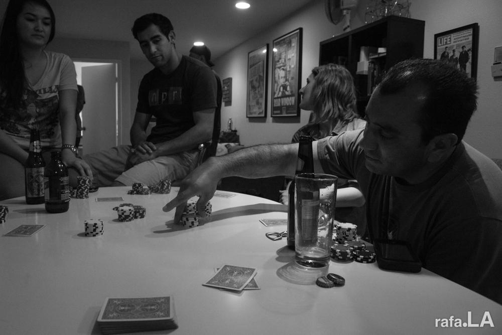 smALL IN.   November 09, 2013 - Poker Night, Hollywood