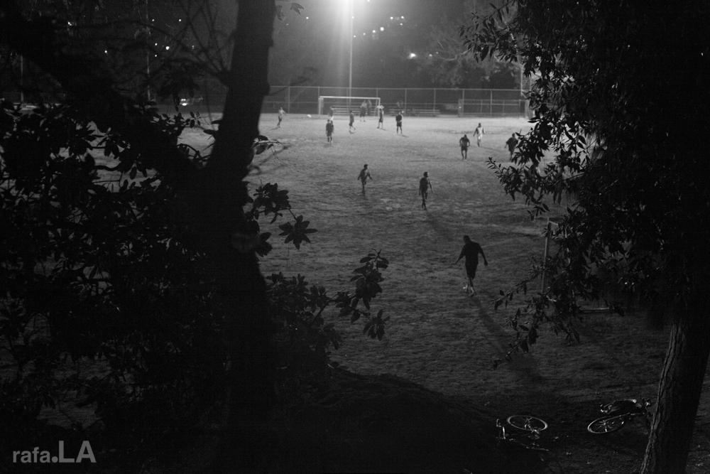 Friday Night  Luces.   November 15, 2013 - Montecito Heights Recreation Center