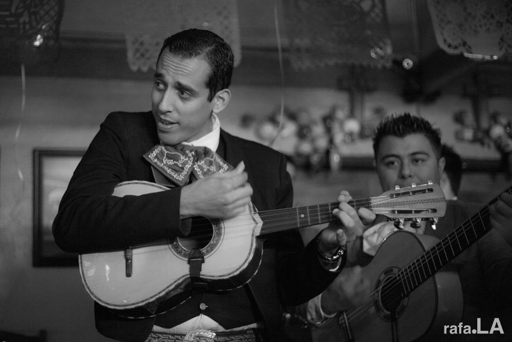 Surveying While Playing  December 07, 2013 - Mariachi Los Toros at Zamora Bros., East Los Angeles
