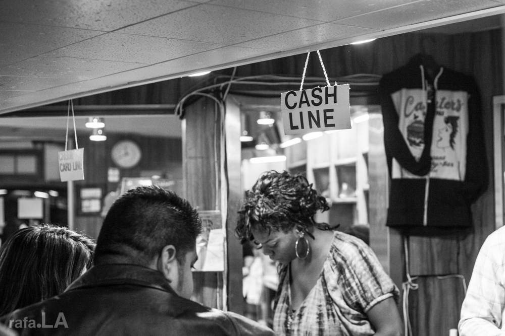 Cash Line  December 14, 2013 - Canter's Deli, Miracle Mile District