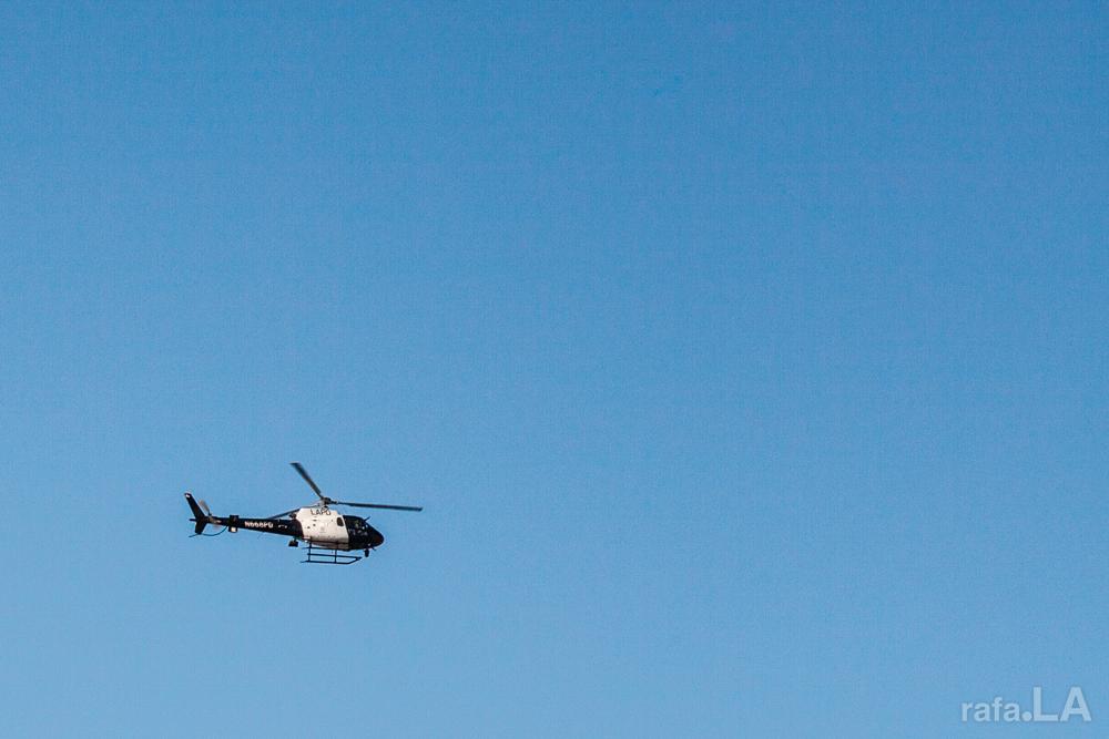 Blue Skies  January 25, 2014 - East Los Angeles air space