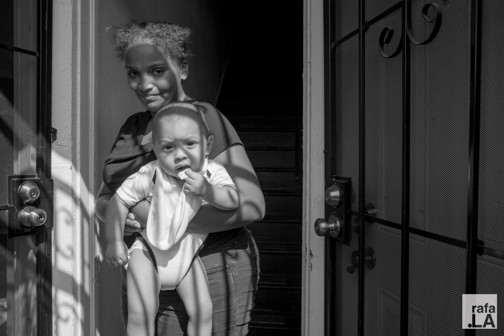 Mother and Child  July 15, 2014 - Boyle Heights