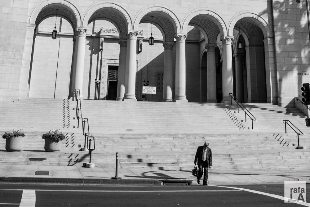 Weight of the City  September 11, 2014 - City Hall, Downtown Los Angeles