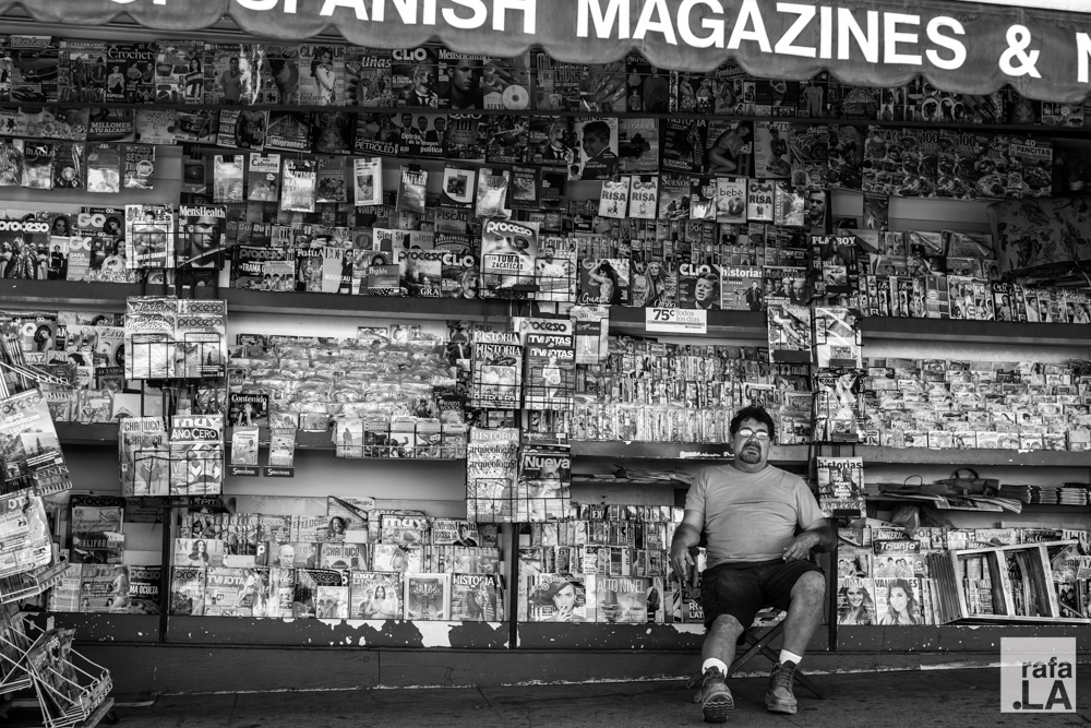 Magazines & This Guy  September 22, 2014 - First and Soto, Boyle Heights