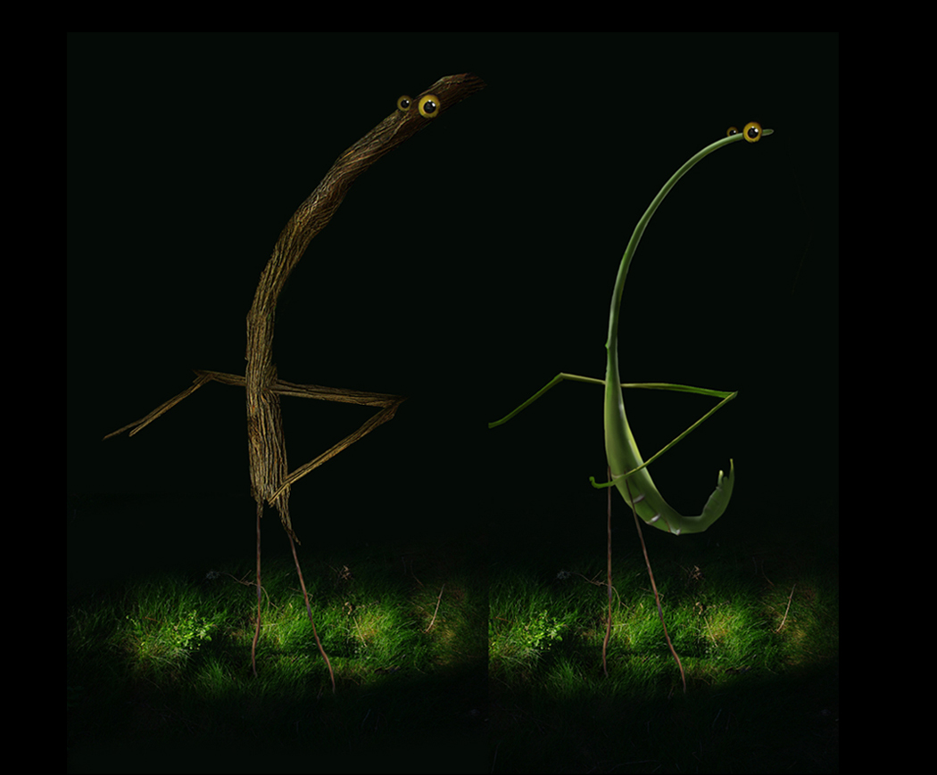 FED EX Enchanted Forest  Twig and Grass Friends