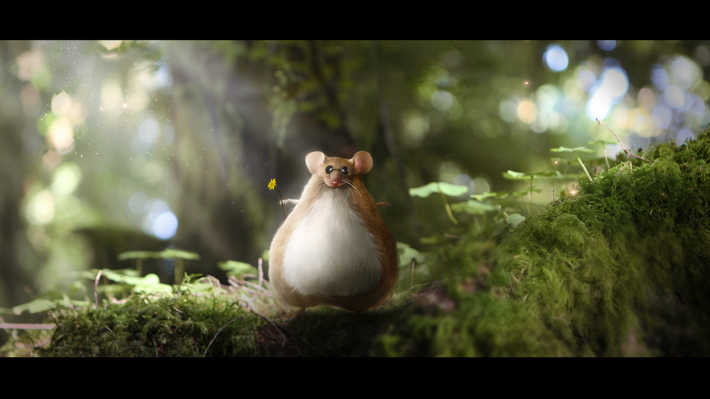 FED EX Enchanted Forest  Ballsack Mouse
