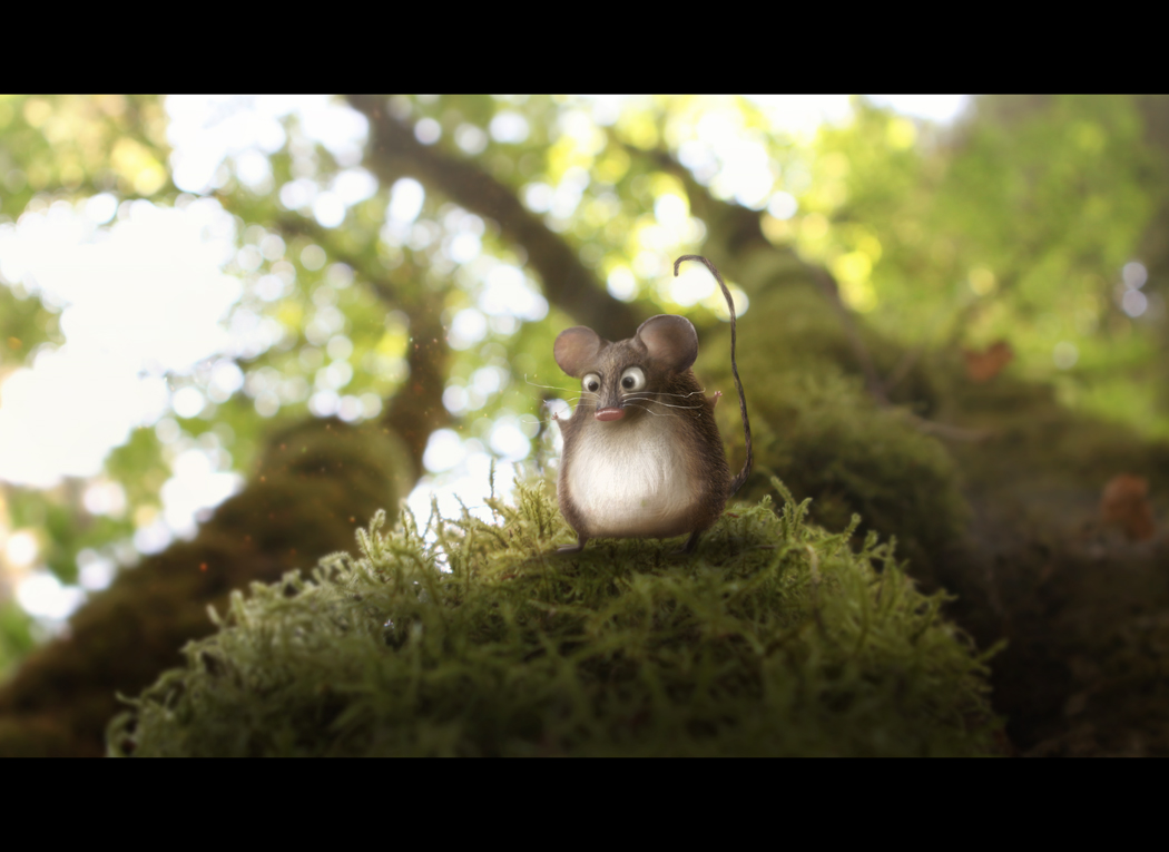 FED EX Enchanted Forest  Mouse