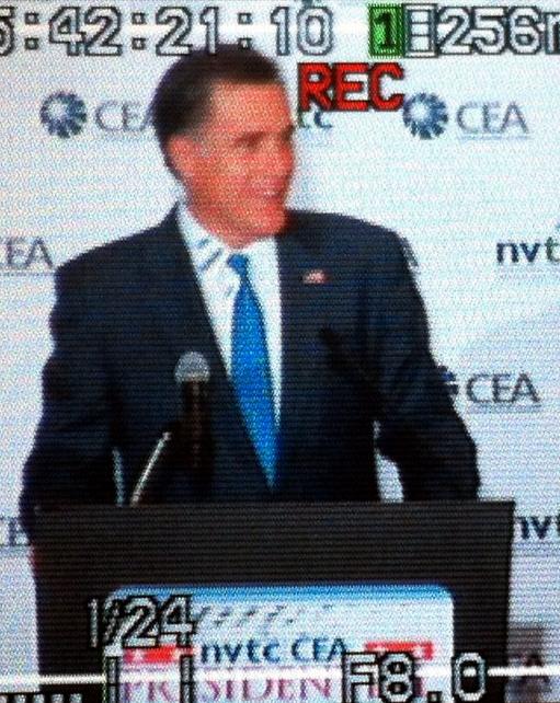 Former Presidential Candidate Mitt Romney