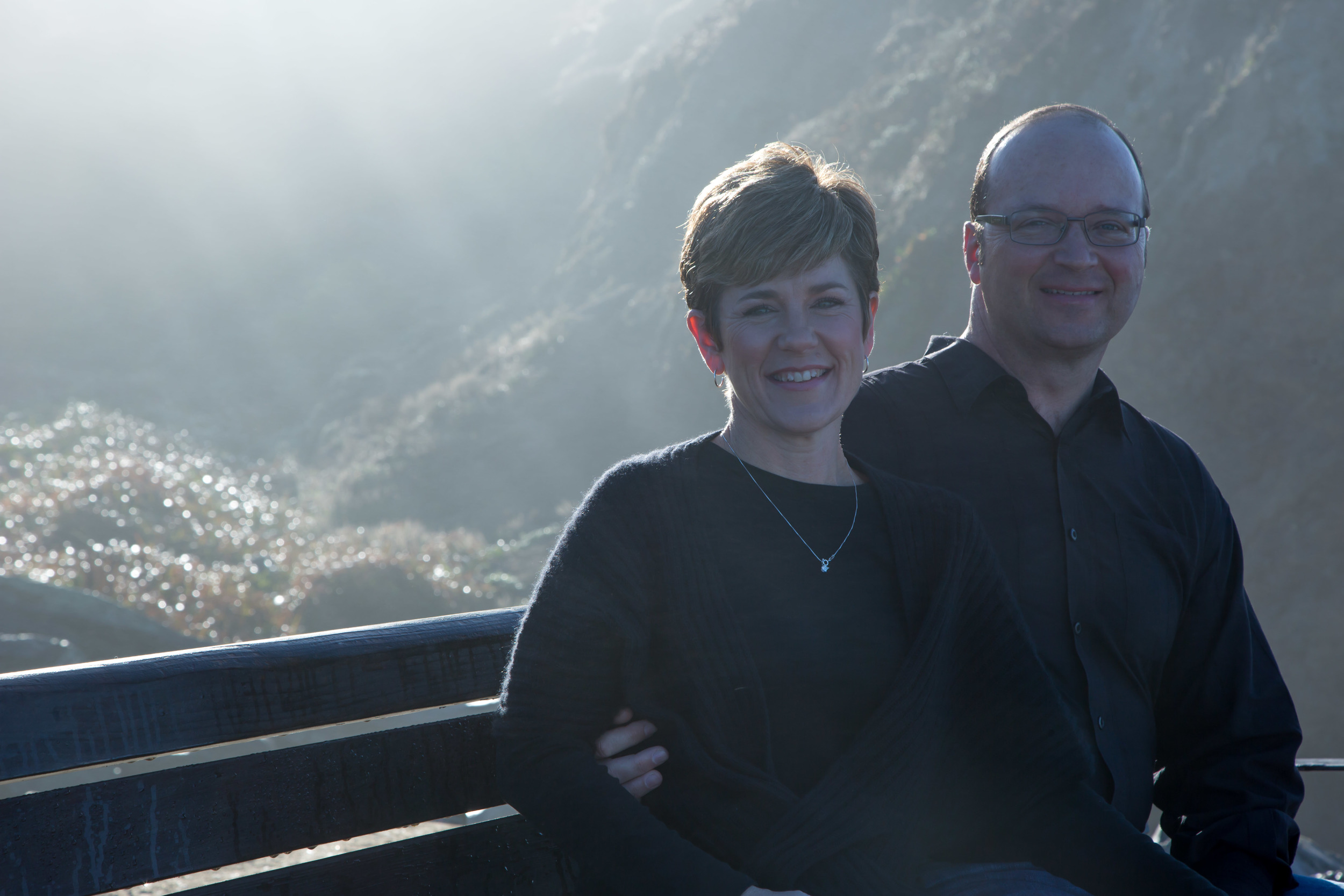 Sometimes over or under exposed shots with the sun behind your subjects can make for a really interesting photo.