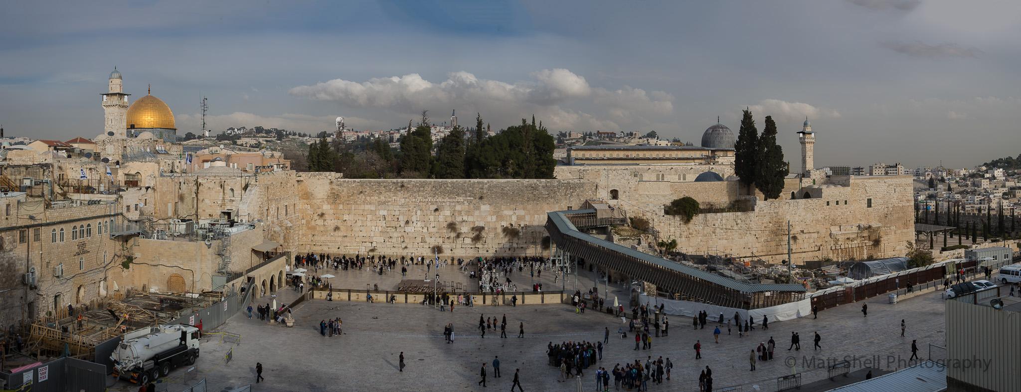 The Western Wall. Jerusalem.