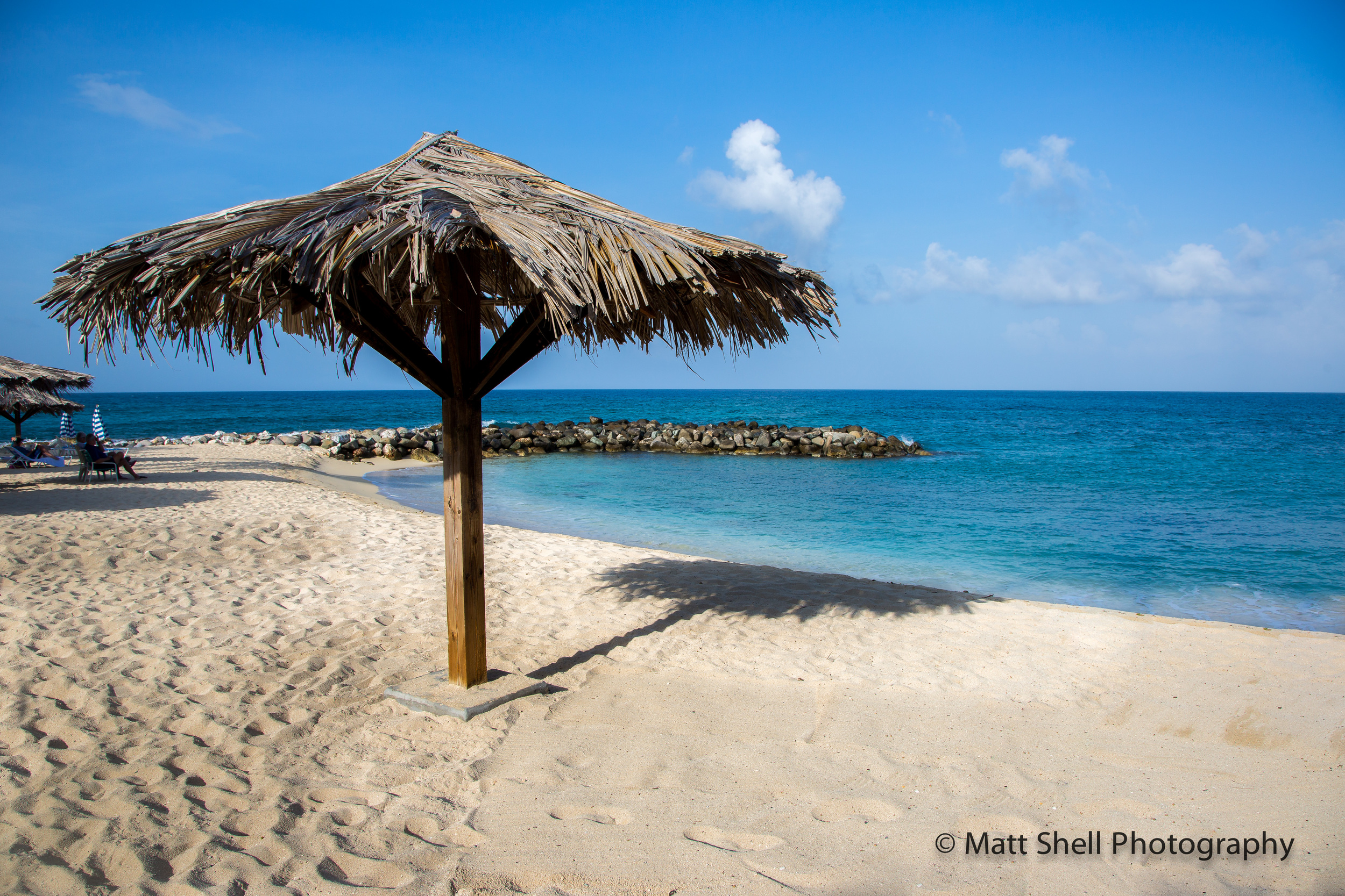 The problem with taking photos of beaches in St. Maarten is they're most often covered in people. Get out early or stay late... you'll have the best light and a better chance of finding an unpopulated area.