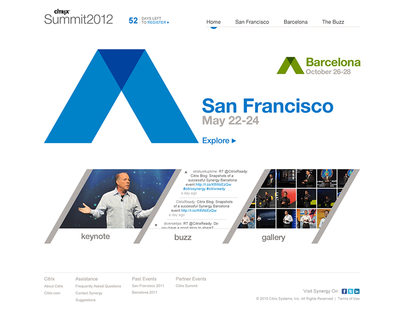 Designed by Clint Malson at Citrix Systems, Inc