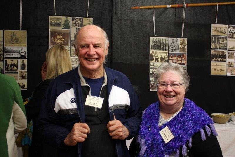 Dave & Barbara at the recent Centenary celebrations.