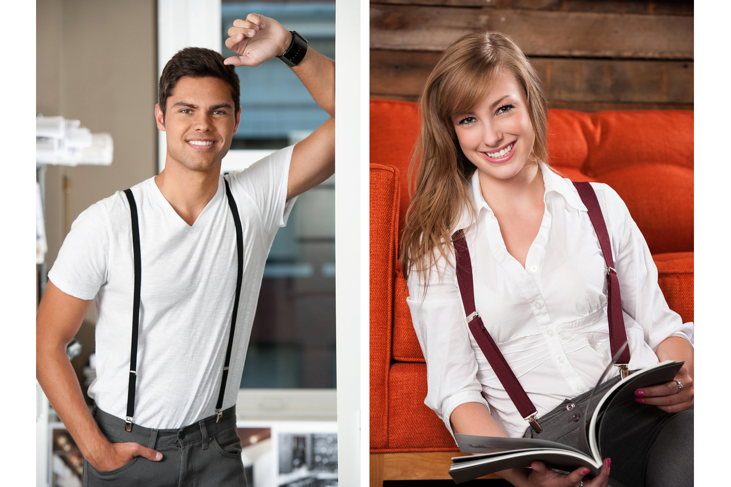 URBAN CHIC SUSPENDERS