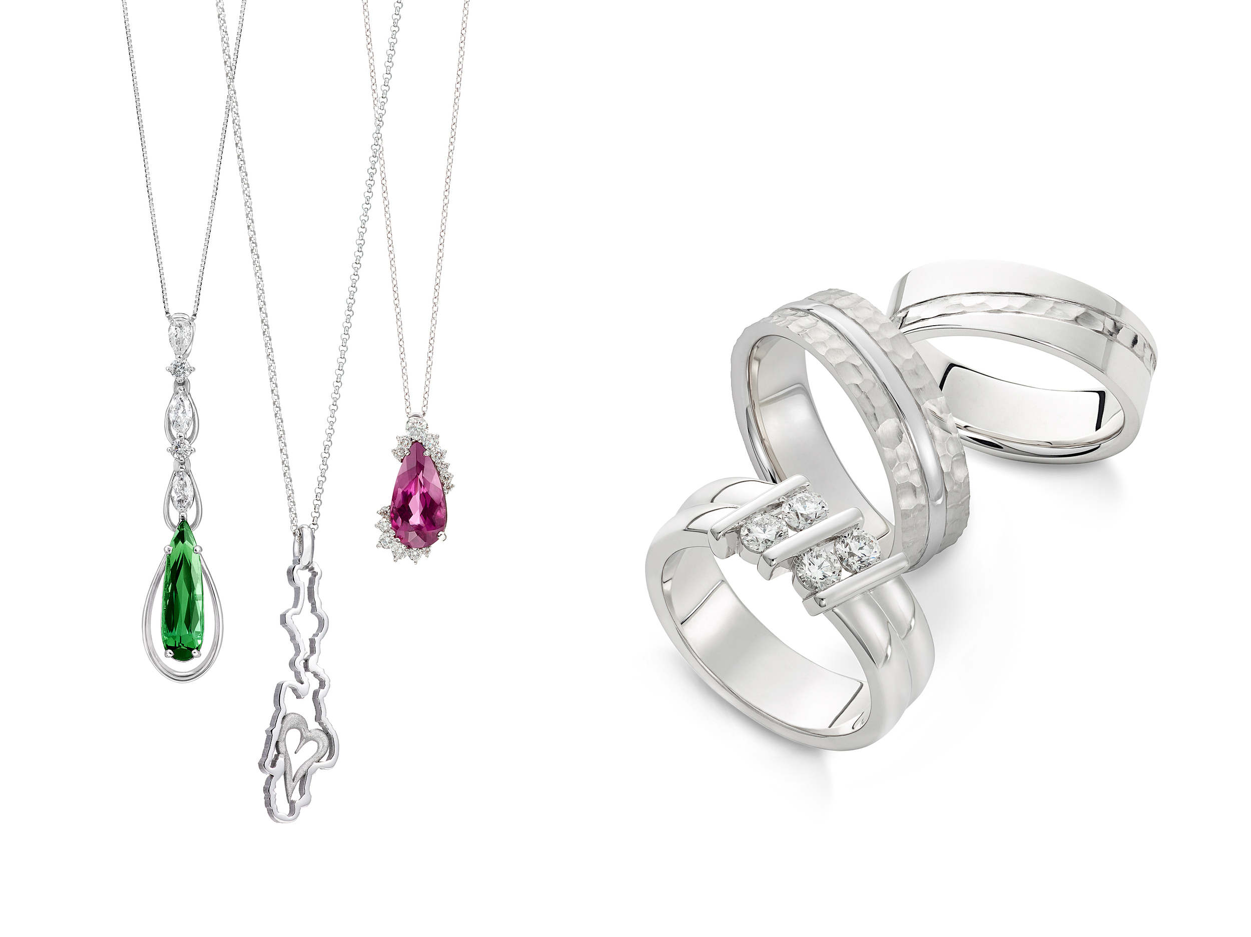 PENDANT + RINGS | JEWELRY DESIGN CENTER