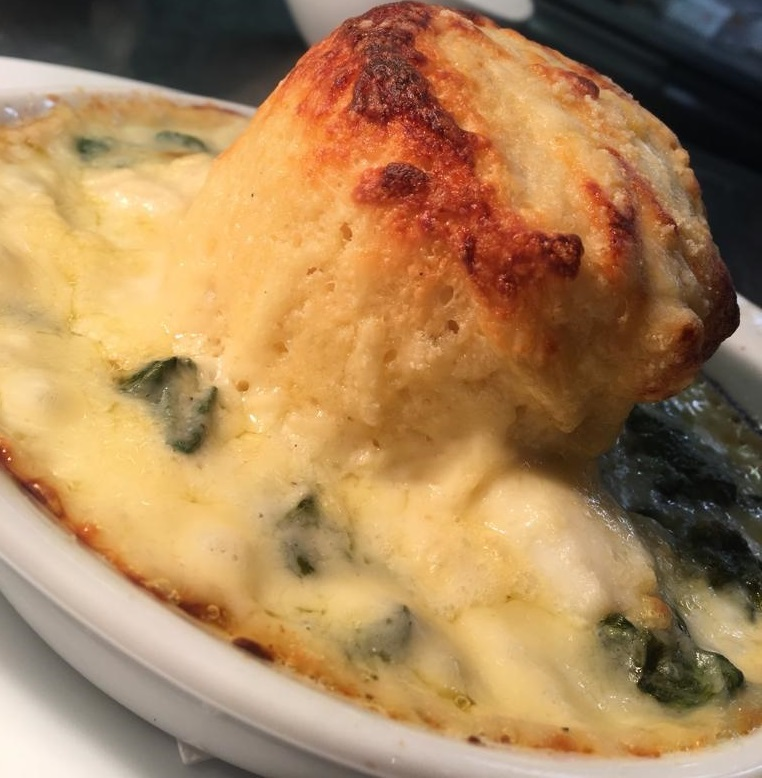 Lighthouse Cheese Souffle