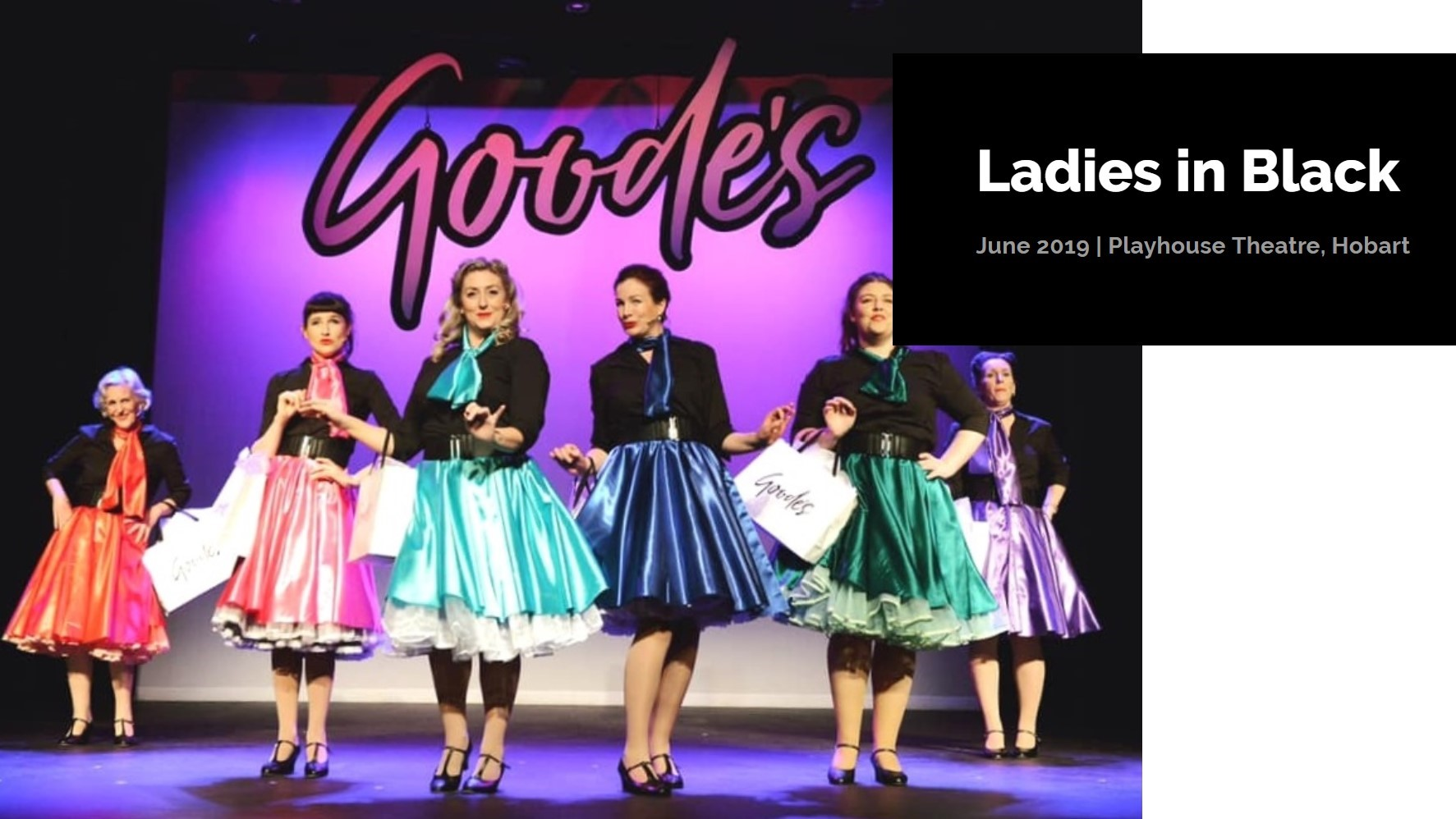 2019 has already seen two fantastic Bijou productions with successful seasons of Ladies in Black and Carrie, the Musical.