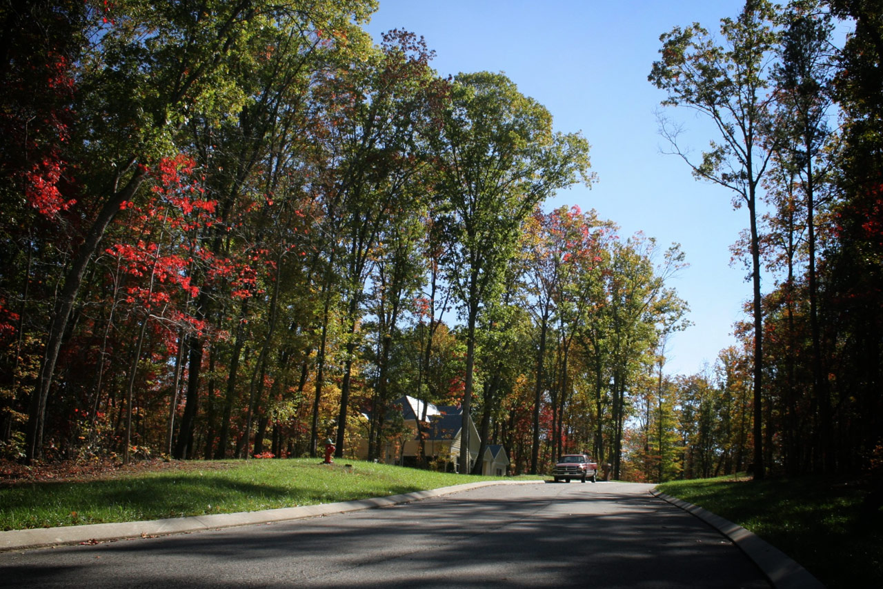 Northbridge Close:  This is Ladd Landing's signature street. One and a half to three acre heavily wooded tracts … some of which have lake and mountain views, and all have direct access (via walking trails) to Shipton on Clinch recreation area with direct access to Watts Bar Lake.