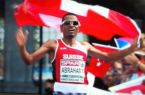 European Champion in Half Marathon
