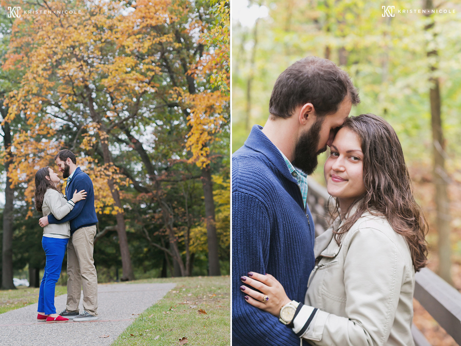 Toledo engagement session at Wildwood Park
