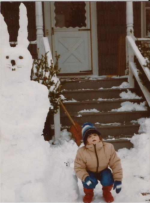 Winter of 1986. Portland, Maine.