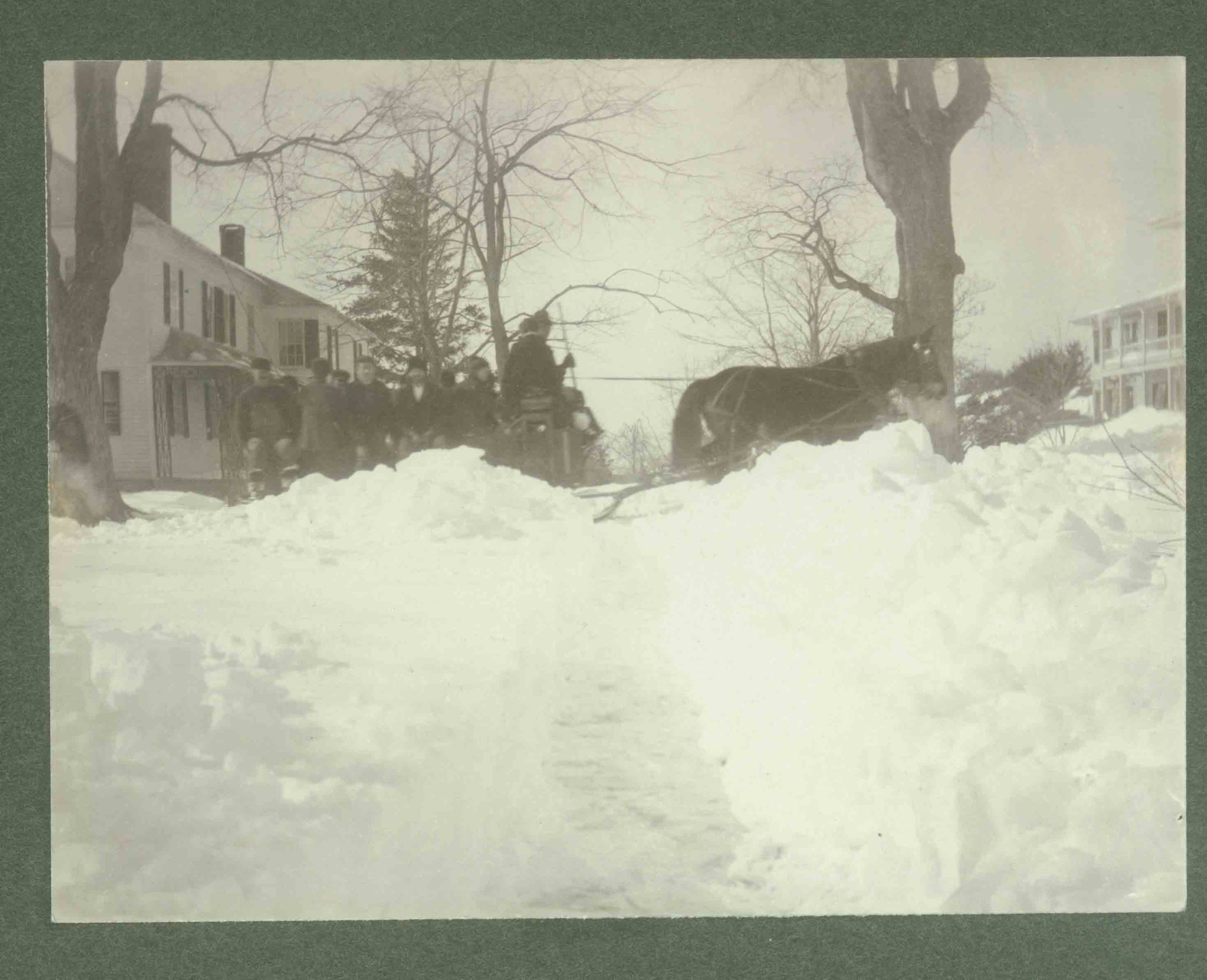 South Street, Litchfield, 1898.  Collection of the Litchfield Historical Society, Litchfield, Connecticut