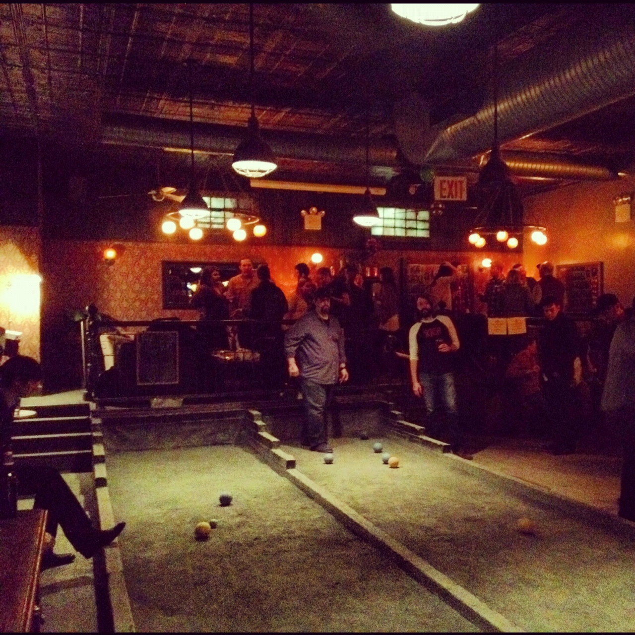 Bocce Ball Union Hall Park Slope Brooklyn.JPG