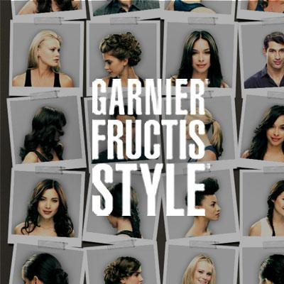 GARNIER STYLE FINDER AND HAIR GENIUS Branding and Website