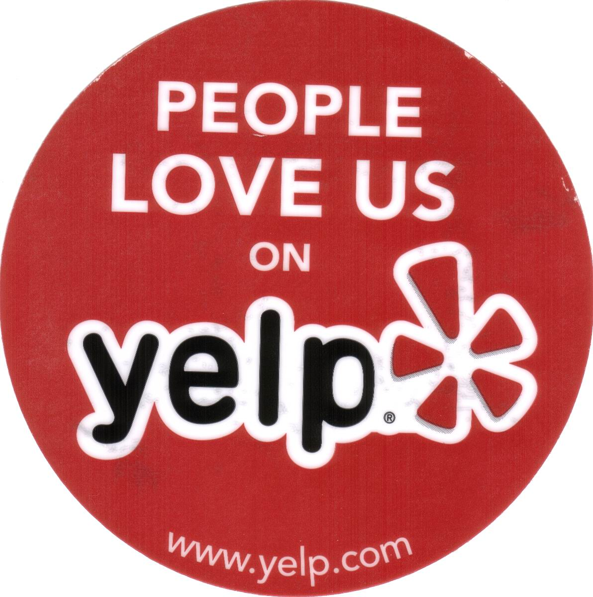 Click to check us out on Yelp!