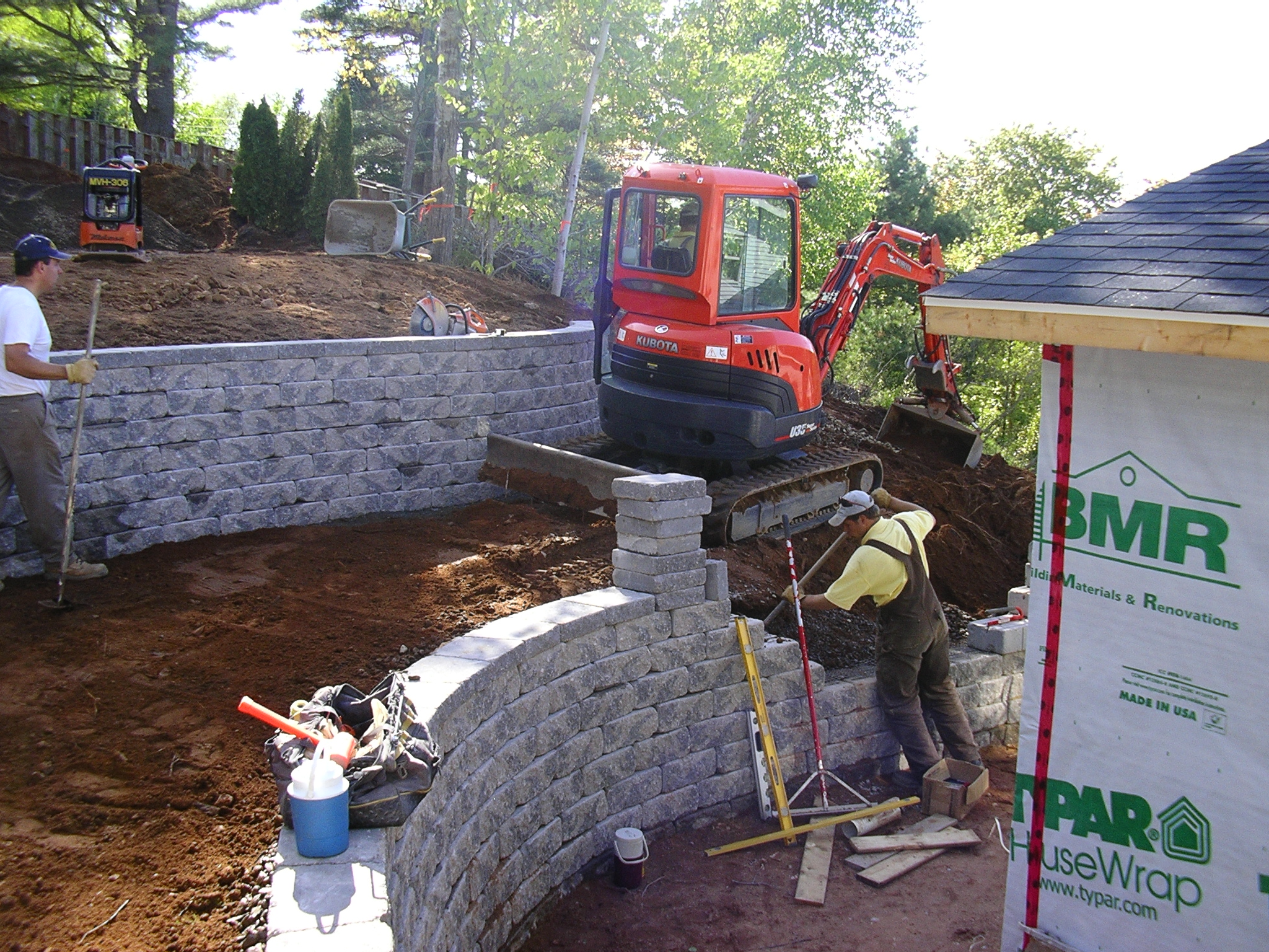 Retaining walls .JPG