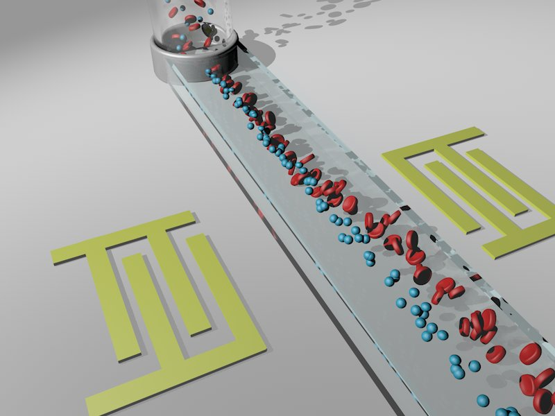 The separation of biomarkers using microfluidics